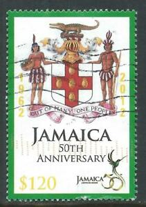 Jamaica 2012 50th Anniversary of Independence $120 Good Used Stamp