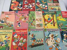 Walt Disney Comics and Stories Silver Age Big Lot Classic Cartoons 1960s