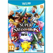 Super Smash Bros Wii U Nintendo - MINT -Super FAST First Class Delivery FREE