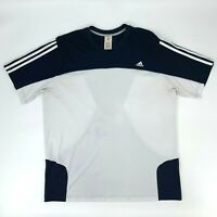 Adidas Climacool Shirt Mens XL Short Sleeve Mesh Back Clima365 Athletic Tee *