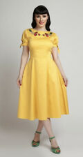 Bnwt Collectif Vintage SOLD OUT £65 Stephanie Fruits Embroidered Dress Sz16