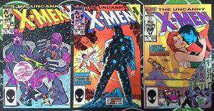 Uncanny X-Men #202-204 1985 Marvel Phoenix Beyonder Secret Wars II Wolverine