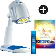 BIOPTRON® Pro1 mit Tischstativ + Buch Lichttherapie + Oxyspray 250 ml