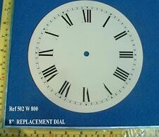 Remplacement 8 in (environ 20.32 cm) Cadran Face pour FUSEE Cadran/les petits américains Horloge Murale