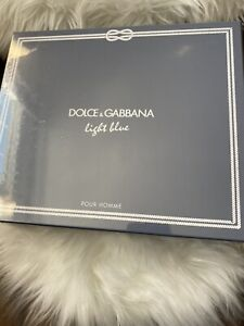 Dolce&Gabbana Light Blue 4.2oz Men's Eau de Toilette Set