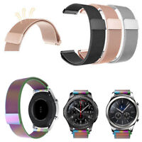 For Samsung Gear S3 Frontier Classic/Galaxy Watch 46mm Metal Loop Replacement