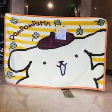 Pom Pom Purin small fuzzy Blanket Throw Blankets nap quilt 70X100Cm cartoon