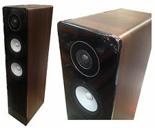 Yamaha NS-F500 Single Tall Tower Home Cinema AV Receiver Brown Speaker 140W
