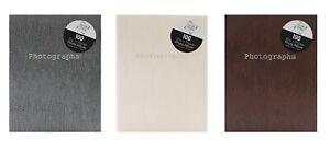 """6 x 4"""" - 100 Pockets Slip-in Snake Skin Print Design Photo Album"""
