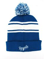 Kansas City Royals Baseball Chevy Winter Hat Cap Beanie MLB Chevrolet Adult Pom