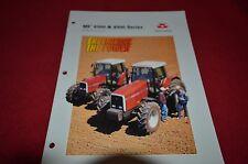 Massey Ferguson 6150 6170 6180 8120 8140 8150 81 Tractor Dealer's Brochure DCPA