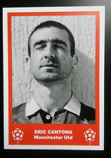 MANCHESTER UNITED - ERIC CANTONA - VINTAGE BIRTHDAY 'FOOTBALL CARD' / GIFT TAG