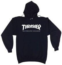New Thrasher Hoodie Skateboard Magazine Unisex Black Hoodie S-XL - FREE SHIPPING
