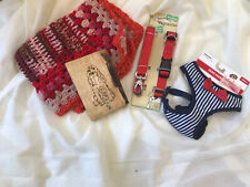 BNWT Dogs Accessory Pack - Lead, Harness, Blanket and Lead Holder