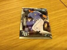 #35 Evan Langoria Tampa Bay Rays baseball / Topps Chrome 2016 trade card