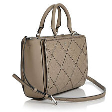 Tory Burch Bag Robinson Crosshatch Small Zip Tote French Gray Agsbeagle PAYPAL