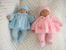 KNITTING PATTERN PREMATURE BABY DOLLS MATINEE SET