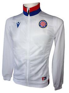 Macron Hajduk Split Travel Polyester Jacke, weiss/rot/blau, Gr. M, 58118060