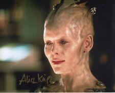 Borg Queen actress Alice Krige signed STAR TREK 8x10 photo