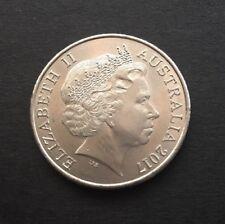 2017 AUSTRALIAN 20 CENT COIN
