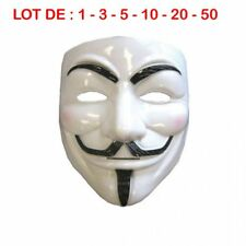 Masques Anonymous V Pour Vendetta, Guy Fawkes Déguisement HALLOWEEN
