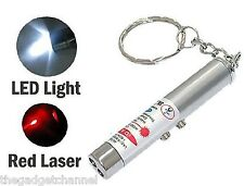 2 IN 1 LASER POINTER TORCH GADGET CHILDRENS BOYS TOY MENS WOMENS GIFT
