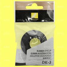 Genuine Nikon DK-3 Rubber Eyecup for FA FE FE2 FM FM2 FM2n FM3A EL2
