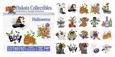 Dakota Collectibles Embroidery Machine Design CD - Haloween 970542