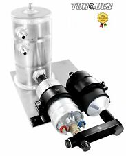 Bosch 044 Fuel Pump With Bosch Fuel Filter Swirl Surge Tank Assembly In Black