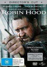 ROBIN HOOD (DIRECTORS CUT)- BRAND NEW/SEALED DVD (RUSSELL CROWE, CATE BLANCHETT)