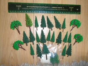 Collection of Scenic Trees for Hornby OO Gauge Sets