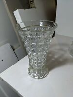 Lovely Vintage Pressed Glass Vase / Celery Vase