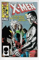 Uncanny X-Men #210 VF+ 1st Cameo The Marauders!! 2 available!