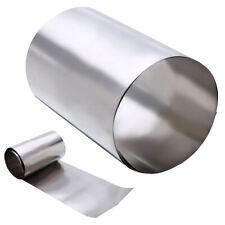 Ti Gr2 Titanium Thin Silver Metal Square Plate Sheet Foil Craft 0.1x100x500mm