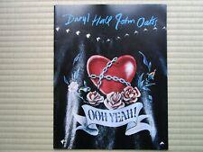 """""""Daryl Hall & John Oates"""" Tourbook Japan Tour 1988 Booklet"""