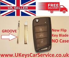 NEW Volkswagen Golf Mk7 (5G) 2012–present Key Blade For 3 Button Remote Key Fob