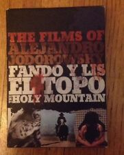 Alejandro Jodorowsky DVD Box Set of 6 - El Topo, Holy Mountain