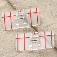 Parallel Stitch Clear Foot Feet Presser Embroidery for Domestic Sewing Machine