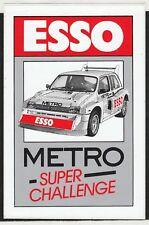 ESSO MG METRO 6R4 SUPER CHALLENGE 1988 ORIGINAL PERIOD RACE STICKER AUTOCOLLANT