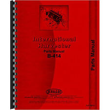 New International Harvester B-414 Tractor Parts Manual
