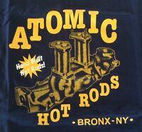 Atomic Hot Rod Speed Shop Shirt (Medium) Chev Ford Harley Triumph