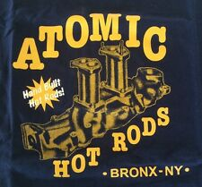Atomic Hot Rod Speed Shop Shirt (Medium) Chev Ford Harley Triumph