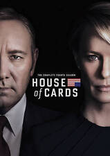 HOUSE OF CARDS: The Complete Fourth Season 4 (4-Disc DVD Boxed Set, 2016) ~ NEW