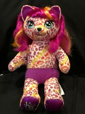 New ListingBuild A Bear Honey Girls Hg Keely Leopard Plush