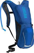 Camelbak Unisex Ratchet 100oz Hydration Bike Pack Blue Cycling Backpack Bag Mesh