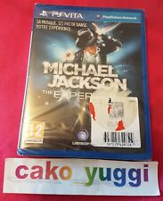 MICHAEL JACKSON THE EXPERIENCE PS VITA NEUF SOUS BLISTER ABIME VERSION FR