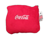 Coca-Cola Velura Quillow-travel blanket and pillow  - BRAND NEW