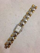Le Baron Ladies Designer Gold And Silver Tone Working Quartz Watch