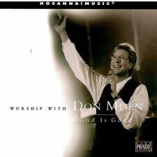 God is Good - Don Moen (CD, Hosanna, Worship With Don Moen) - FREE SHIPPING