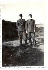 WWII German RP- Army Soldier- Uniform- Belt Buckle- Boots- Overseas Hat- Friends